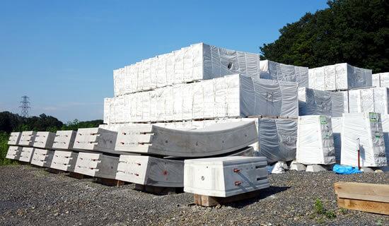 コンクリート養生資材の加工・販売
